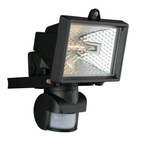Outdoor security spotlights